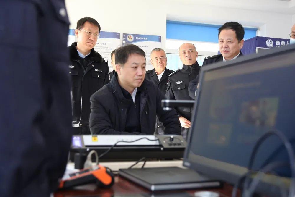 陈志刚同志实地调研指导法治化营商环境建设工作并走访帮扶企业