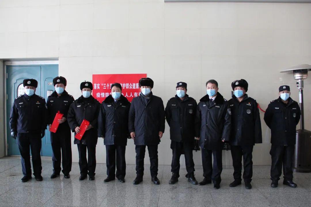 鞍山市领导走访慰问一线公安民警