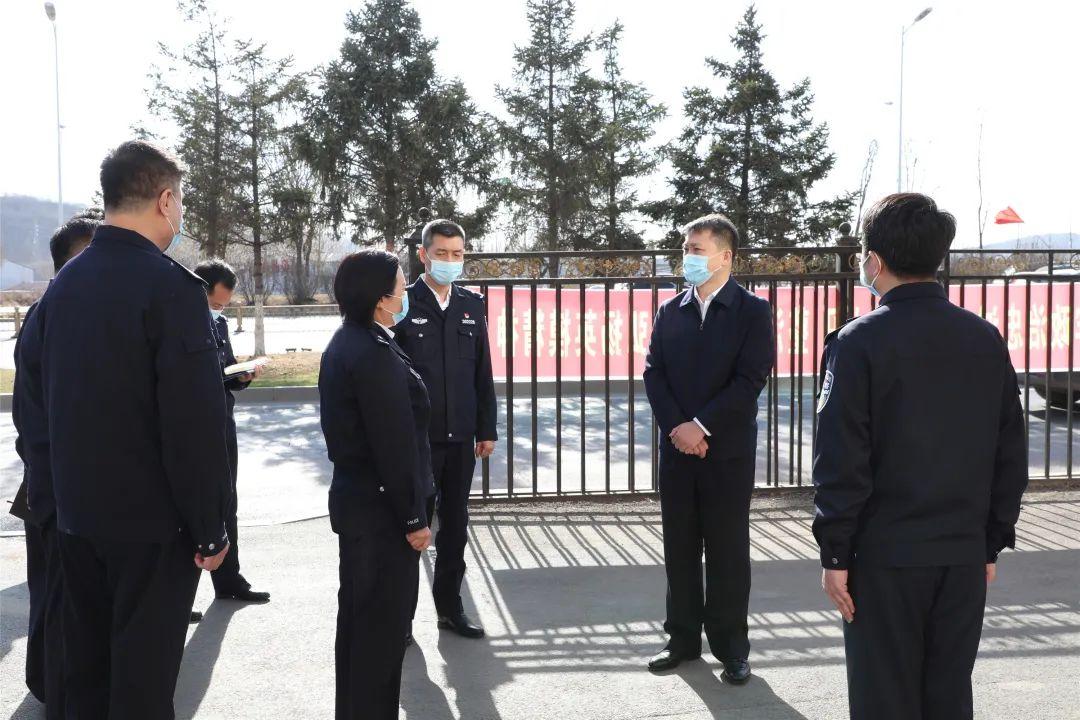 陈志刚同志实地调研督导全市公安队伍教育整顿工作