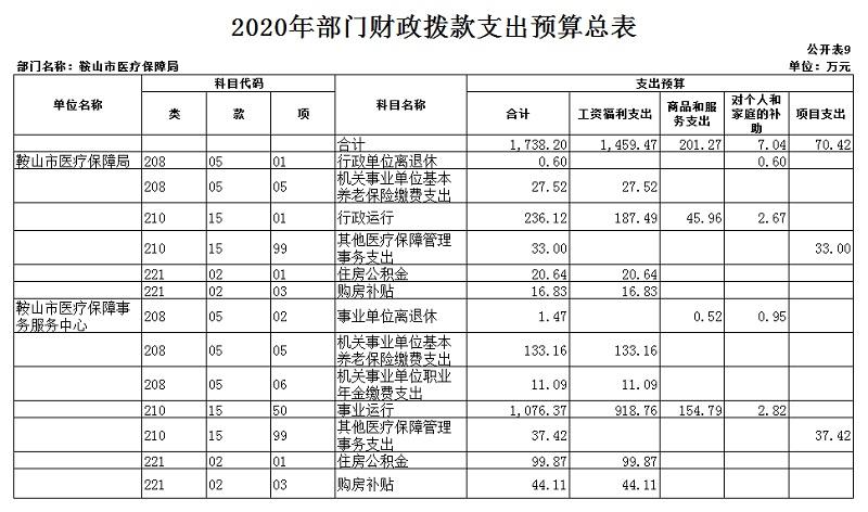"""医保局2020年部门预算和""""三公""""经费预算公开表 上报版_20201231092857_10.jpg"""