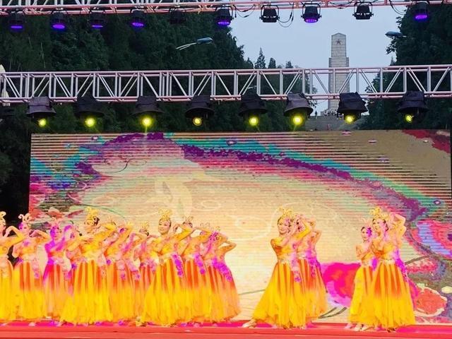 广场舞大赛舞出幸福感